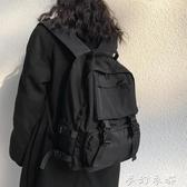 書包女韓版高中原宿ulzzang大學生雙肩包男ins百搭大容量工裝背包夢幻