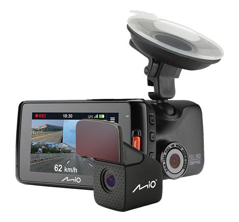 MIIO MiVue 618D 高感光雙鏡頭 GPS行車記錄器 前後1080P/30fps同步錄影