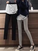 秋裝新款韓版修身假兩件加絨裙褲打底褲女外穿保暖小腳褲長褲 韓國時尚週