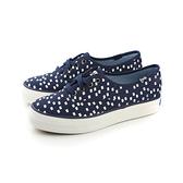 Keds TRIPLE RETRO GEO NAVY 布鞋 厚底 休閒 方塊 深藍 女鞋 9163W131872 no218