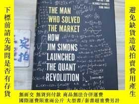 二手書博民逛書店The罕見Man Who Solved The MarketY3