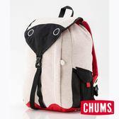 CHUMS 日本設計 K(中大童) 後背包 米色 CH602767W003