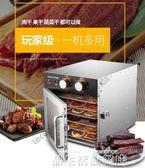 水果烘乾機 食品家用食物果茶溶豆寵物風乾機果蔬乾果機商用 LX220V