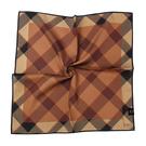 DAKS經典格紋100%純棉帕巾(咖啡色)989108-134