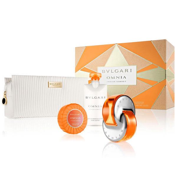 BVLGARI 寶格麗 晶燦女性香氛禮盒(淡香水+體乳+香皂+化妝包) (OS小舖)