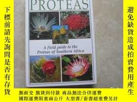 二手書博民逛書店PROTEAS罕見Afield guide to the proteas of southern africa