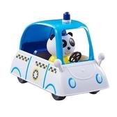 【Peppa Pig 粉紅豬】粉紅豬小妹 交通工具組 可愛警車←可愛貓熊警車 Police Car 玩具