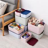 塑料收納箱衣物儲物箱衣柜桌面大小號收納盒零食玩具床底整理箱子HRYC