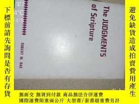 二手書博民逛書店THE罕見JUDGMENTS OF SCRIPTUREY1866