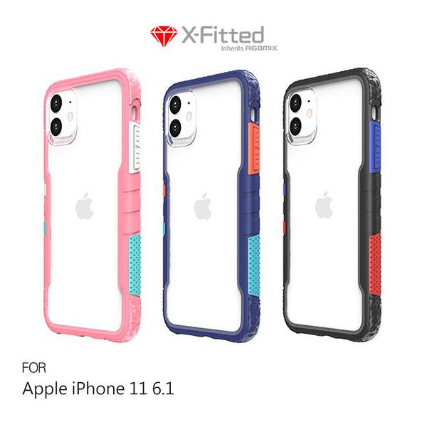 【愛瘋潮】X-Fitted   Apple iPhone 11(6.1吋)Chameleon 彩框保護殼