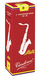 凱傑樂器 Vandoren Java Red Tenor Reeds  紅盒 次中音 竹片 3號