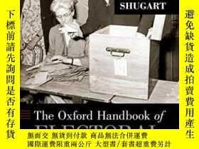 二手書博民逛書店The罕見Oxford Handbook Of Electoral SystemsY364153 Erik S