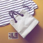 包包2018新款印花手提帆布包 韓國ulzzang單肩包簡約百搭斜挎女包  巴黎街頭