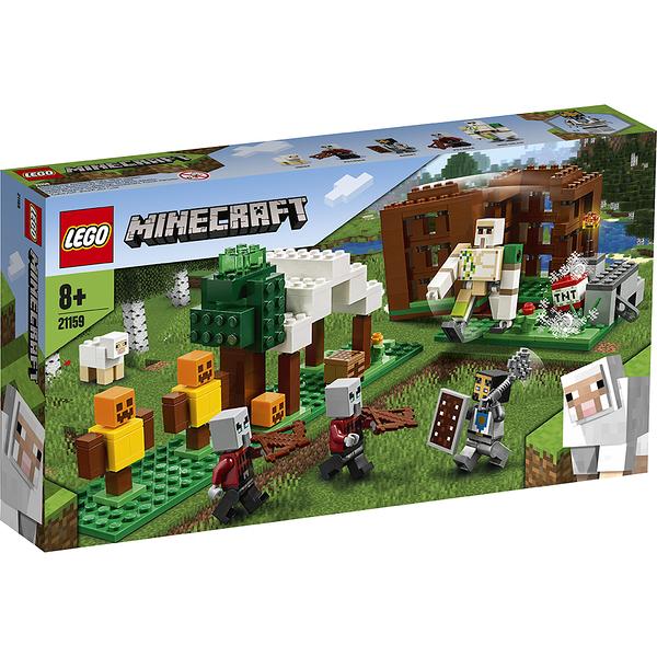 樂高積木 LEGO《 LT21159 》Minecraft 系列 - The Pillager Outpost╭★ JOYBUS玩具百貨
