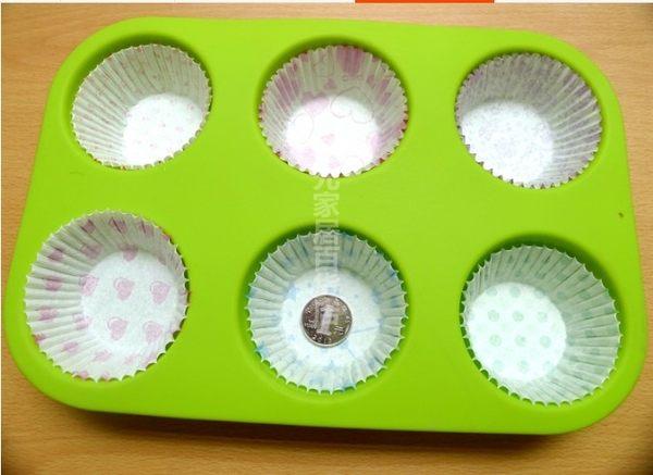 [協貿國際]  杯形可配紙杯(不含)矽膠蛋糕模具