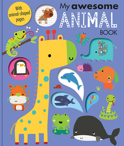 My Awesome Animal Book 我的動物 趣味學習書
