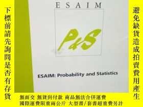 二手書博民逛書店ESAIM罕見- Probability and Statist