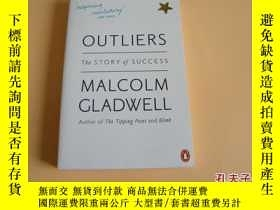 二手書博民逛書店英文原版Outliers:罕見The Story of Success by Malcolm Gladwell。奇