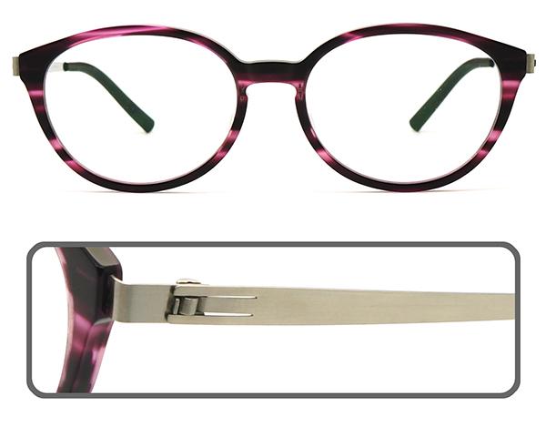 【台南 時代眼鏡 ByWP】BYA17809FIL-BS 德國薄鋼光學眼鏡鏡框 嘉晏公司貨可上網登錄保固