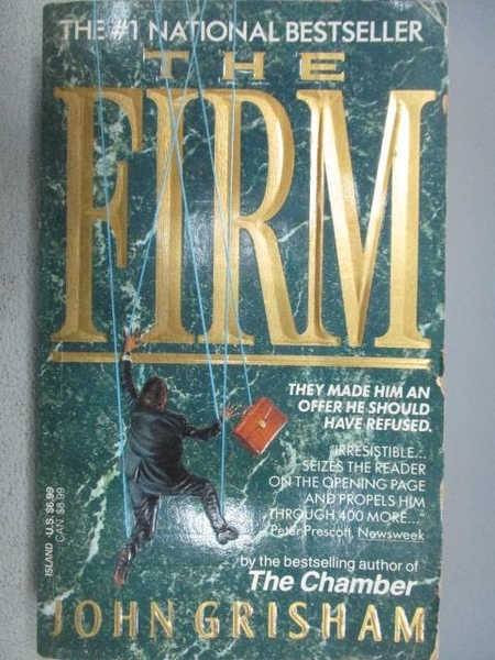 【書寶二手書T1/原文小說_MOP】The Firm_John Grisham