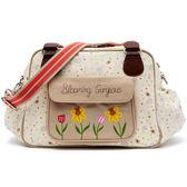 媽媽包 Pink Lining 時尚繽紛媽媽包 │ 花朵系列 - 蜜蜂花園款 #13AW063
