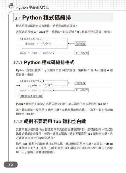 Python零基礎入門班:一次打好程式設計與邏輯訓練基本功!(附120分鐘影音教學/範..
