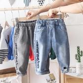 男童牛仔褲 童裝刷毛小兒童褲子厚款2019新款寶寶秋冬裝長褲洋氣潮