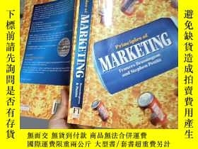 二手書博民逛書店Principles罕見of MarketingY4246 出版