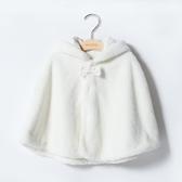 寶寶披風斗篷春秋外出女嬰兒女寶寶公主小外套0-3秋季嬰幼兒披肩 韓小姐的衣櫥
