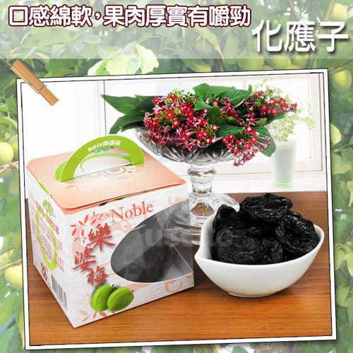【NOBLE樂婆梅】紫蘇梅350g+化應子350g