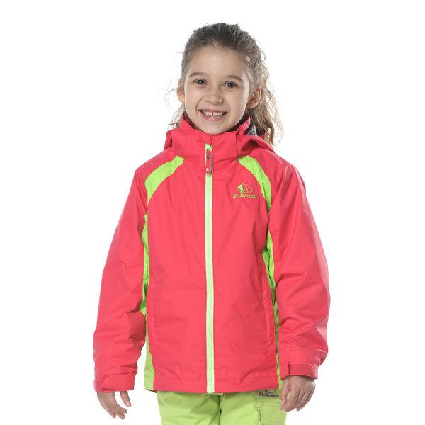 【聖伯納 St.Bonalt】女中童-可拆式連帽刷毛四合一防水防風外套(6162)