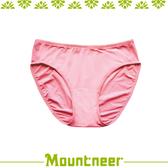 【Mountneer 山林 女 透氣三角內褲《淺粉》】11K80-30/透氣內褲/排汗內褲/三角褲