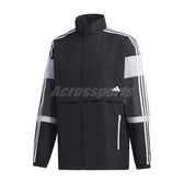 adidas 外套 UB Colorblock Jacket 黑 白 男款 立領 風衣外套 運動休閒 【ACS】 GL0402