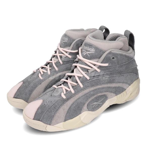 Reebok 籃球鞋 Shaqnosis MU CNY 年輪鞋 灰 麂皮 鼠年 男鞋 【ACS】 FW0868