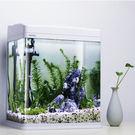 魚缸水族箱 生態金魚缸造景套餐高清玻璃迷...