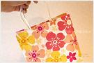 日式風櫻花手提袋(19X24X8cm)小手提袋(包裝袋.可裝禮品)