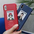 韓國 Wanted 硬殼 手機殼│iPhone 5S SE 6 6S 7 8 Plus X XS MAX XR LG G5 G6 G7 V10 V20 V30 V40│z8782