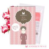 薔薇之戀童顏果凍面膜 40ml 1入-Annie`s Way 香港著名插畫家謝曬皮設計限量款