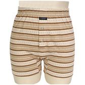 BURBERRY TRUNK條紋兩釦式家居短褲(淺棕)085173