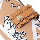 不萊玫卡包女士皮套卡夾超薄韓國可愛多卡位卡套名片夾零錢包短  港仔會社