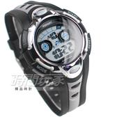 POPART博藝錶 大視窗 簡單潮流運動腕錶 霓虹夜光照明 電子錶 男錶 P793灰