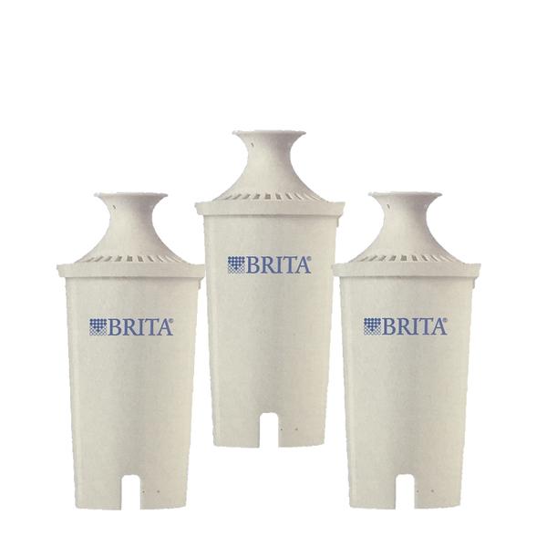 [玉山最低比價網] Brita 濾水壺專用圓形濾心/濾芯 (3入) (和舊款相容,效率更好可過濾151公升)