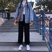 寬鬆直筒褲春秋季休閒大碼工裝學生cec西裝褲女小腳九分褲哈倫褲 雙十同慶 限時下殺