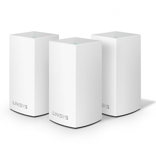 Linksys Velop AC3900 WiFi 雙頻 網狀路由器 3入組 WHW0103-AH 支援MU-MIMO技術 有線Gigabit乙太網路連接埠*2