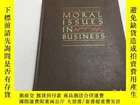 二手書博民逛書店Moral罕見Issues In Business-Y383796 : Vincent E Barry Wa