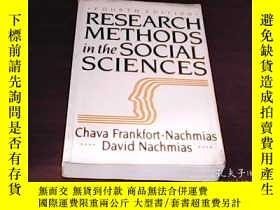 二手書博民逛書店Research罕見Methods in the Social