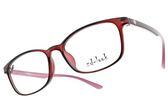 ZD-LOOK 光學眼鏡 HD-D308 C5 (透紅-紅粉) 12星座 韓製濾藍光眼鏡
