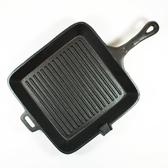 [好也戶外]OLD MOUNTAIN SG方鑄鐵長柄燒烤盤/10.5吋 No.10108