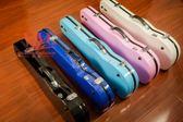 玻璃鋼小提琴盒 44型號琴盒顏色多種高檔鋼琴烤漆現貨 時尚提琴盒