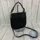 BRAND楓月 PRADA 1BC082 牛皮黑色LOGO 經典 小包 斜背包 手提包